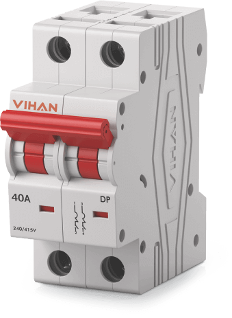 vihan Isolator Double Pole (Mcb Module)